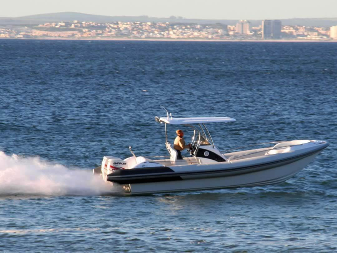 Hysucat-8.5-Hydrofoil-Supported-Catamaran-Fast-RIB-Boat-Sea-trial-10
